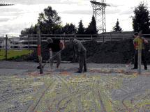 Neubau Auslauf 2009 2